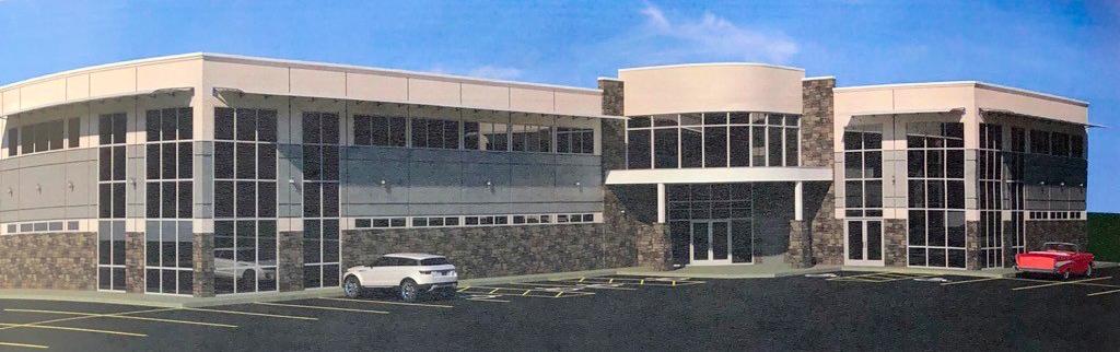 Rendering of QEII Wellness Centre