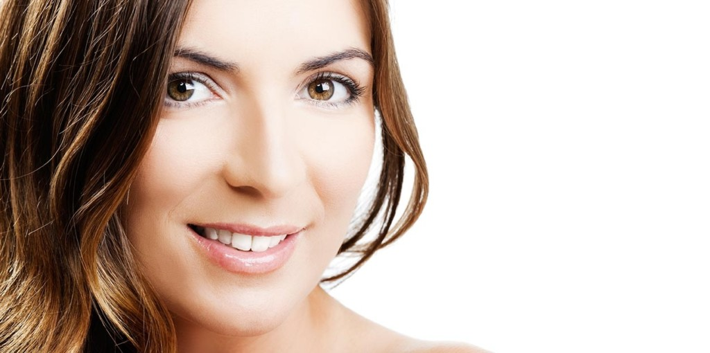 Young Woman with healthy clear skin